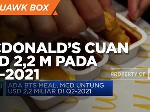 Berkat BTS Meal, McDonald's Cuan USD 2,2 M pada Q2-2021