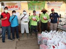CT ARSA dan Kemensos Salurkan 80 Ribu Paket Makanan Bergizi