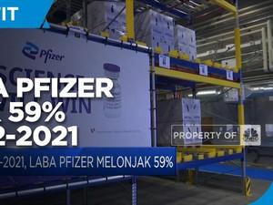 Q2-2021, Laba Pfizer Melonjak 59%