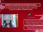 BPJS Kesehatan Masuk Inovasi Pelayanan Publik Terpuji 2021