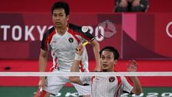 Hasil Bulutangkis Olimpiade: Hendra/Ahsan Dikalahkan Pasangan Taiwan