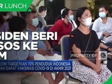 Bansos UMKM & Target Vaksinasi 70% Penduduk di Akhir 2021