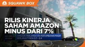 Rilis Kinerja Perusahaan, Saham Amazon Turun Lebih dari 7 %