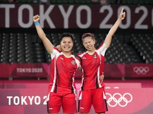 Greysia Polii/Apriyani Rahayu Melangkah Final Olimpiade Tokyo