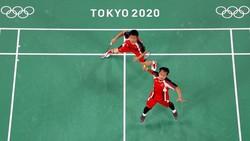 Hasil Bulutangkis Olimpiade: Hendra/Ahsan Gagal Raih Perunggu