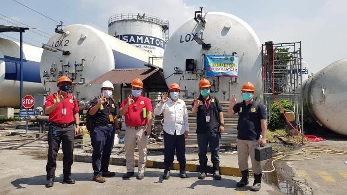 Untuk memastikan pendistribusian oksigen ke berbagai tempat berjalan aman dan lancar, Kementerian Ketenagakerjaan menginstruksikan Pengawas Ketenagakerjaan, baik yang ada di pusat maupun di daerah, untuk melakukan supervisi terhadap pengoperasian ISO Tank.