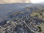 Potret Kebakaran Hutan - Banjir Bandang di Sejumlah Negara