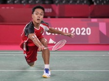 Kalah dari Chen Long, Ginting Gagal Melaju ke Final Olimpiade