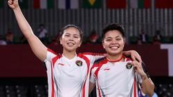 Greysia/Apriyani Lanjutkan Tradisi Emas Bulutangkis di Olimpiade Tokyo