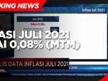 BPS: Inflasi Juli 2021 Capai 0,08% (mtm)