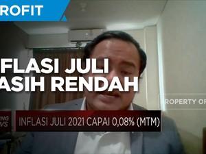 Demand Tertahan PPKM Darurat, Inflasi Juli Tercatat Rendah