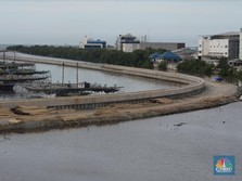 Maaf! Tanggul Laut Raksasa di DKI Jakarta Nasibnya Tak Jelas