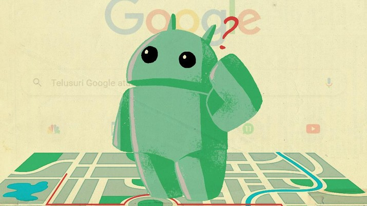 Infografis: Cek Segera! HP Android ini Tak Bisa Lagi Pakai Google & Maps