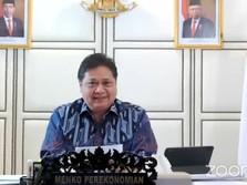 Menko Airlangga: Dana Pemulihan Ekonomi Sudah Cair Rp 355 T!