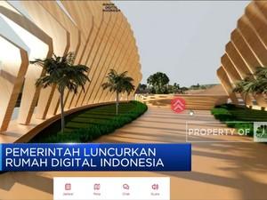 Pemerintah Luncurkan Rumah Digital Indonesia