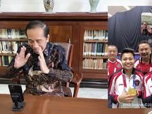 Jokowi Video Call Greysia/Apriyani: Saya Seneng Banget!