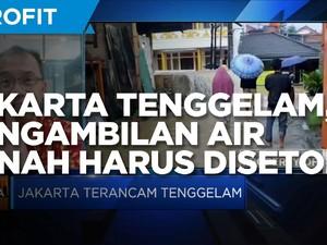 Cegah Jakarta Tenggelam, Pengambilan Air Tanah Harus Disetop!