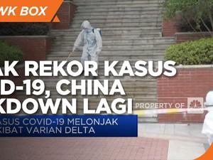 China Lockdown Lagi Usai Cetak Rekor Covid-19
