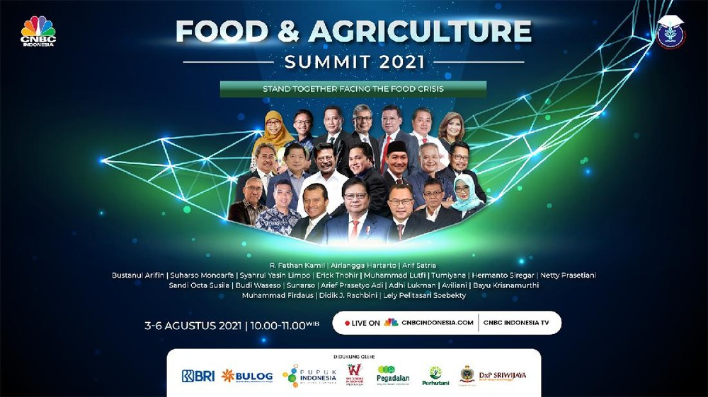 CNBC Indonesia Food and Agriculture Summit 2021