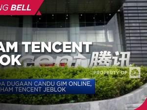 Ada Dugaan Candu Gim Online, Saham Tencent Jeblok
