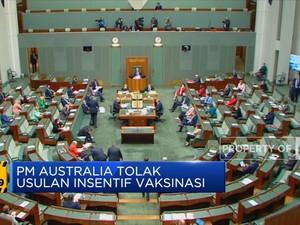 PM Australia Tolak Usulan Insentif Vaksinasi