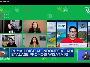 Sandiaga Uno Apresiasi Rumah Digital Indonesia