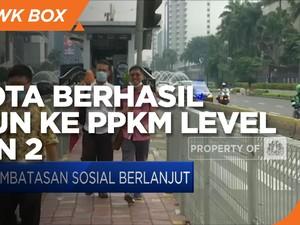 13 Kota Berhasil Turun ke PPKM Level 3 & Level 2