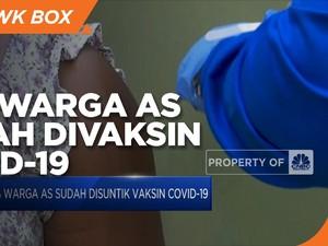 70% Warga AS Sudah Suntik Vaksin Covid-19