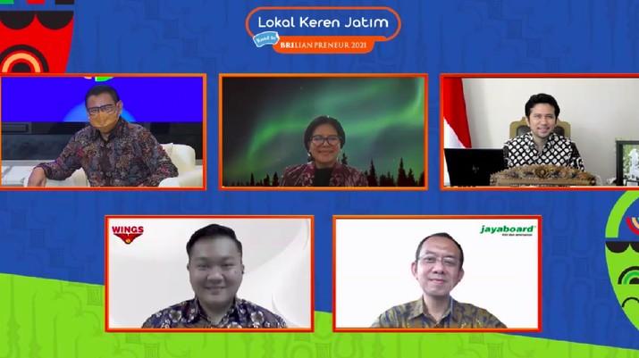 """Guna mendukung UMKM terus berkarya dan menghasilkan produk terbaik, Pemerintah melalui Kementrian BUMN menggelar Gerakan Nasional Bangga Buatan Indonesia (Gernas BBI) digelar dengan tema """"Lokal Keren Jatim""""."""