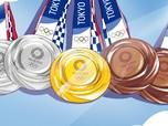 Intip Uang yang Diterima Peraih Medali Olimpiade Tokyo 2020