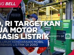 2040, RI Targetkan Semua Motor Berbasis Listrik!