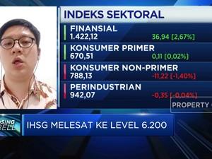 PDB RI Bikin 'Pede' Investor,  IHSG Pertahankan Level 6.200