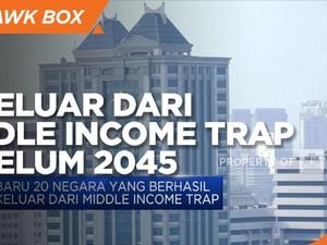 RI Ditargetkan Keluar dari Middle Income Trap Sebelum 2045