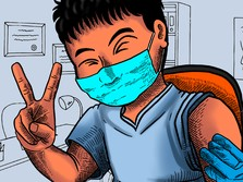 Tak Semua Warga DKI, Vaksinasi Dosis I di Jakarta Capai 98%