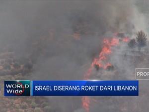 Israel-Libanon Saling Serang Menggunakan Roket