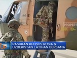 Pasukan Khusus Rusia & Uzbekistan Latihan Bersama