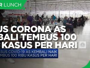 Kasus Corona AS Kembali Tembus 100 Ribu per Hari