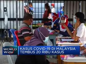 Rekor! Kasus Harian Covid-19 di Malaysia Tembus 20 Ribu Kasus
