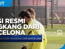 Messi Resmi Hengkang Dari Barcelona