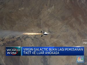 Virgin Galactic Buka Lagi Pemesanan Tiket ke Luar Angkasa