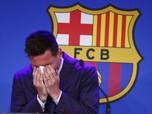 Momen Haru Saat Lionel Messi Berpisah dengan Gerard Pique dkk