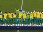 Aksi Brasil Tekuk Spanyol & Raih Emas di Sepakbola Olimpiade