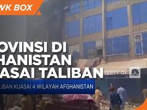 Empat Provinsi di Afghanistan Dikuasai Taliban