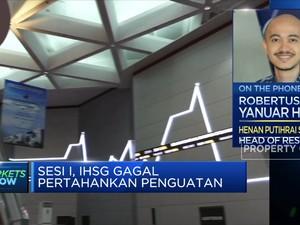 Gagal Pertahankan Penguatan, IHSG Tinggalkan Level 6.200