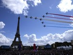 Potret Pesta Warga Prancis Rayakan Olimpiade 2024 Paris