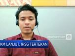 PPKM Diperpanjang, IHSG Kembali Ditutup Terkoreksi