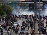 Bangkok Rusuh! Demonstran Protes Soal Penanganan Covid-19