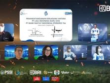 Sah! BRI Resmi Jadi Sponsor Utama Liga 1 Musim 2021-2022
