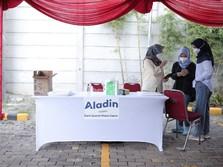Bank Aladin, Alfamart & Halodoc Buka Sentra Vaksinasi Massal
