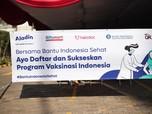 OJK - BI Dukung Vaksinasi Bank Aladin, Alfamart & Halodoc